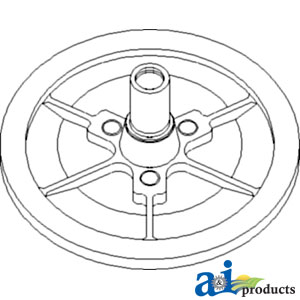 413164a1 Pulley Assy Variable Rotor Drive 1