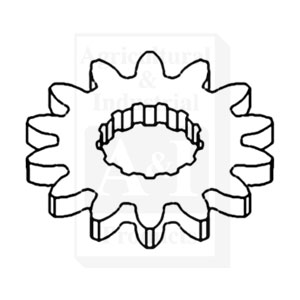 70241940 Gear Internal Spline Idler Hydraulic Pump 1