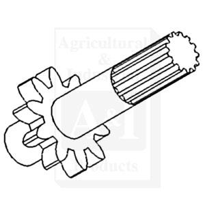 70244027 Drive Shaft Hydraulic Pump 1