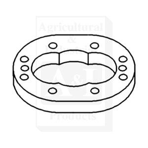 70254195 Gear Plate Hydraulic Pump 1