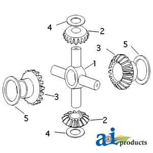 885518m1 Gear Differential 1
