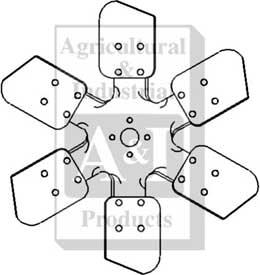 Ar48871 Fan 6 Blade 1