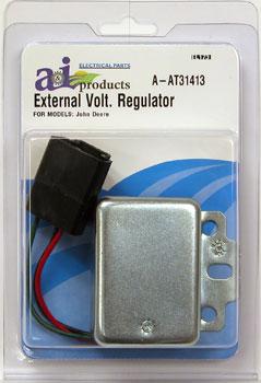 At31413 Regulator External Voltage For John Deere