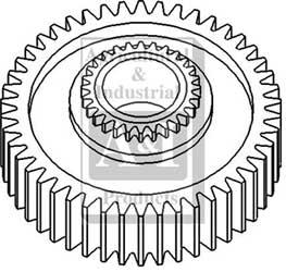 E49ga9 Gear Secondary Output Shaft 1