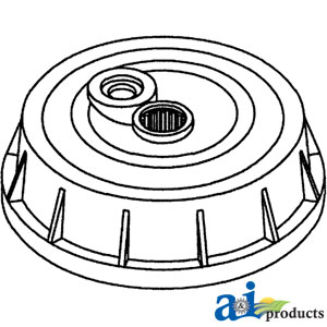 H85887 Brake Drum Cast Iron 1