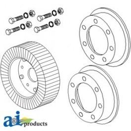 "Wheel, 6"" X 9"" Tail Rim Wheel Assembly - 00025200"