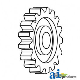 Gear, Crankshaft, 4.203