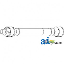 """Driveshaft, Header With 1-1/8"""" Hex End Yokes"""