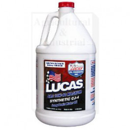 Lucas Synthetic SAE 15W-40 CJ-4 Engine Oil; Case Of 4 / 1 Gallon Containers