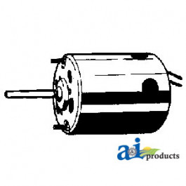 "Blower Motor - Pressurizer (12V, 5/16"" X 1 1/2"" shaft, CCW rotation, 2sp)"