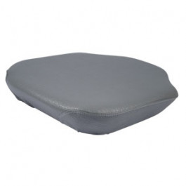 Seat Cushion, Bolt On, Wood Base, GRY