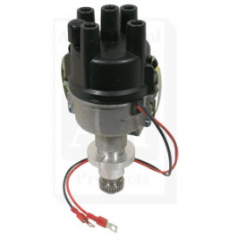 Distributor, New, Electronic Ignition, 6 Volt Positive Ground