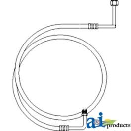 Line, Rec/Drier Outlet Line