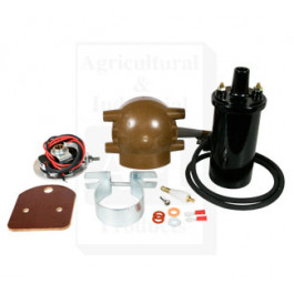 Ignitor & Coil Conversion Kit; 12 Volt, Negative Ground