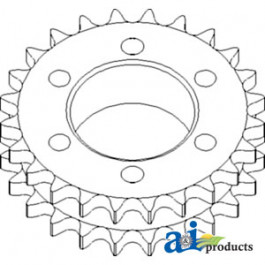 Sprocket Assy.; Main Drive