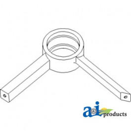Support, Bearing, Unloader, Split Auger (Upper)