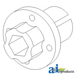 Hub, Beater Drive Pulley