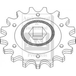 Sprocket, Idler, Clean Grain Elevator