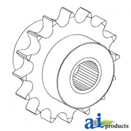Sprocket, Feeder Reverser Idler