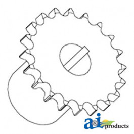 Sprocket, Feeder Reverser Drive
