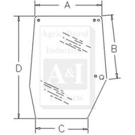 Glass, Door, Upper (RH)