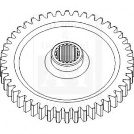 Gear, Driven; Independent PTO, 46 Tooth