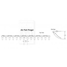 Chaffer, Adjustable Air Foil, Top