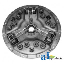 """Pressure Plate: 14"""", 3 lever, 15 spring, (w/ 2.048"""" flywheel step)"""