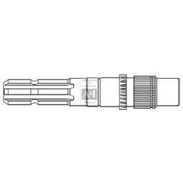 Shaft, PTO 540 RPM