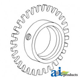 Sprocket Assy, Fan Speed Tach