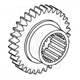 Pinion Gear, Transmission Countershaft