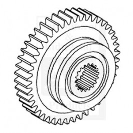 Gear, 1st (8 Speed Transmission)