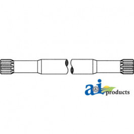 Axle Drive Shaft for w/ Axle Extension