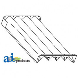 Trough Assy, Auger Bed