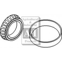 Bearing Kit, Outer Trumpet Housing, Halfshaft