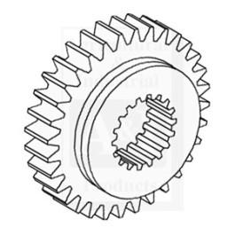 Pinion Gear, Transmission, 4th