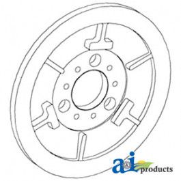 Pulley Assy, Rotor Drive, Stationary