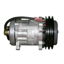 Compressor, New, Sanden Style w/ Clutch (4478)