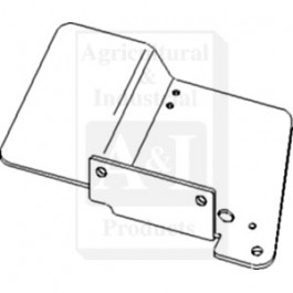 Plate, RH; PTO Shield Support