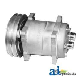 Compressor, New, Sanden Style w/Clutch (4478)