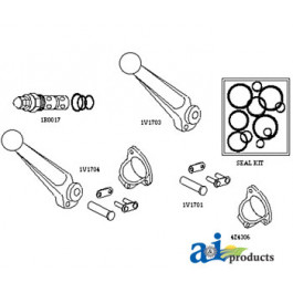 Handle w/ Pin Kit for SBA Valve