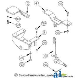 Rear Saddle Assembly