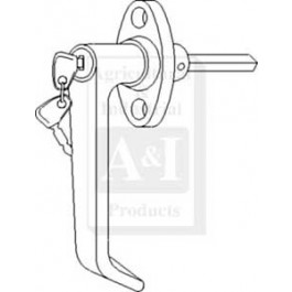 Handle, Cab Door (RH/LH)
