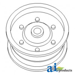 Pulley, Idler (Flat)