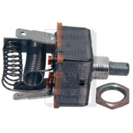 Switch Blower, w/ resistor on switch, short shaft, 12 volt