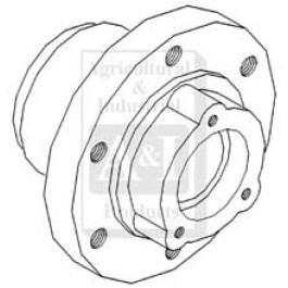 Hub, Front Wheel (6 Bolt)