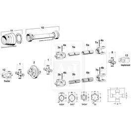 Roll Pin; 10 X 80