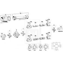 Cross & Bearing Kit