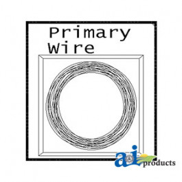 "Coil Pack Primary Wire, 12"", 12 Ga. (YLW)"