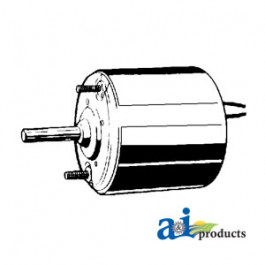 "Condenser Motor (12V, 5/16"" X 1 1/2""shaft, Rev rotation)"